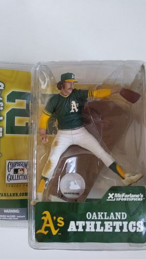 McFarlane toys MLB Cooperstown collection series action figure Jim catfish hunter for Sale in Scottsdale, AZ