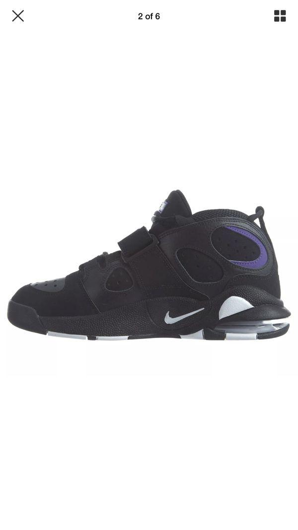 buy online ef830 bc910 Nike Air CB 34 Godzilla Charles Barkley Mens Size 9.5 Black White 316940-001  New