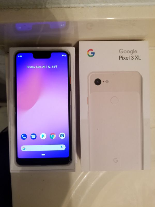 Google Pixel 3 XL White 64GB (Factory Unlocked) for Sale in Portola Valley,  CA - OfferUp