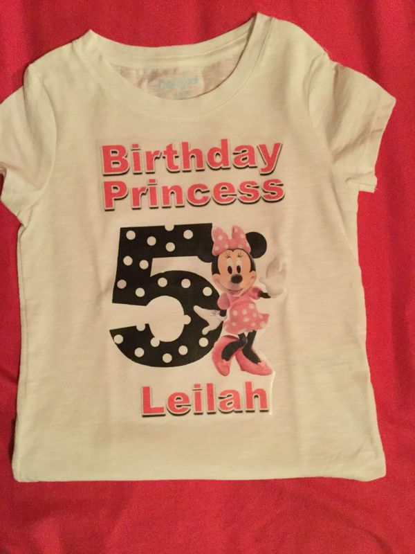 Minnie Mouse Birthday Shirts Family Bundle For Sale In Perris CA