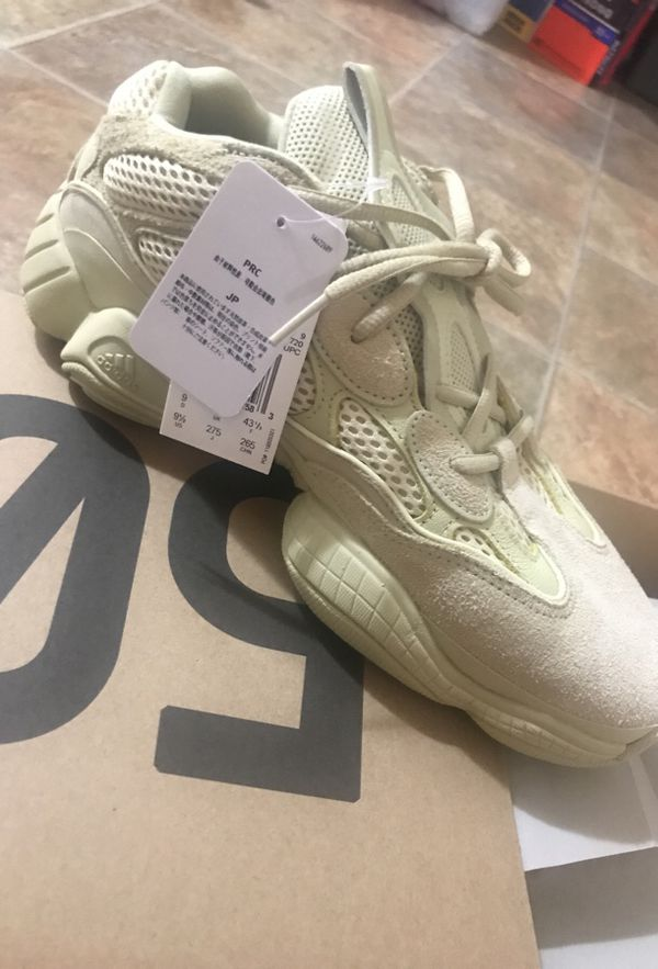 the best attitude 19f86 c00d5 Yeezy 500 yellow moon for Sale in San Diego, CA - OfferUp