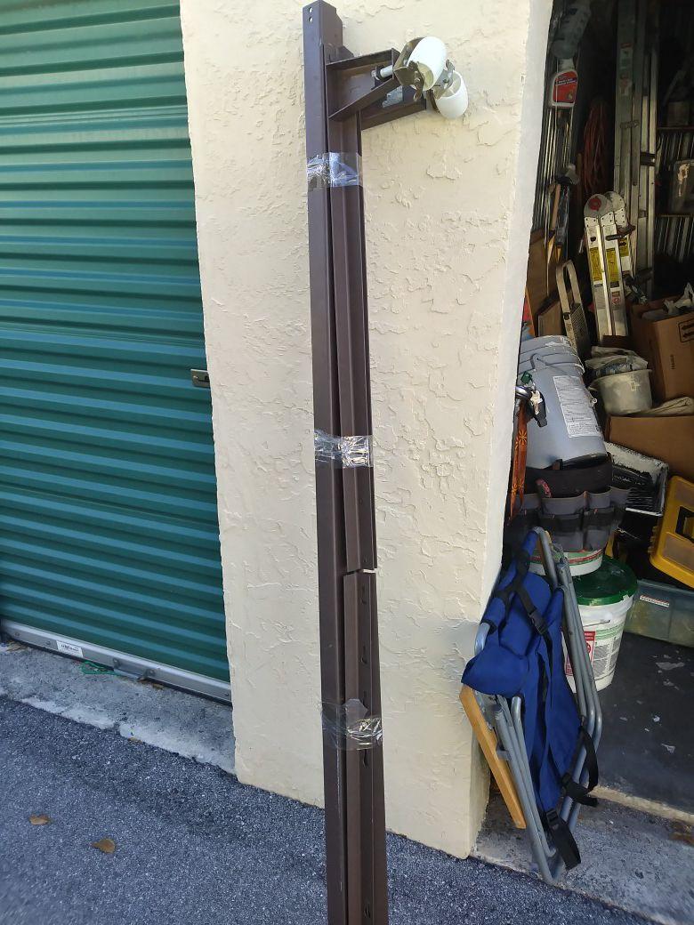 Bed frame rack