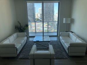 Le Corbusier Living room sofa set | original cost $3,500 for Sale in Miami, FL
