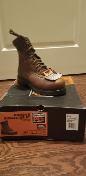 Timberland 8inch Womens work boots size 8.5 for Sale in Baltimore, MD