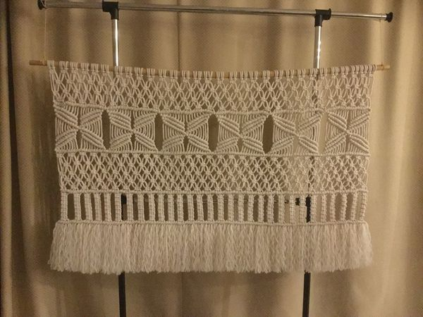 Handmade Large Macramé Wall Hanging For Sale In Hudson Fl Offerup