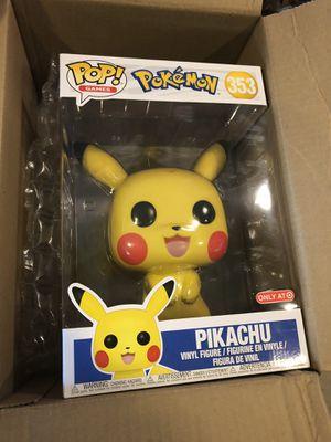 Funko Pop Target Exclusive 10' Pikachu for Sale in Chandler, AZ