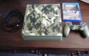 PS4 slim (Camo) for Sale in Washington, DC