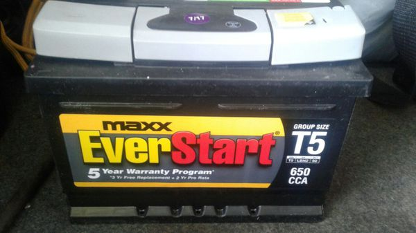 BRAND NEW EVERSTART T5 battery for Sale in Modesto, CA - OfferUp
