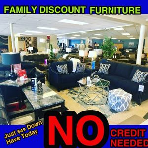$749 Ashley sofa and loveseat no credit needed just checking account have today for Sale in North Smithfield, RI