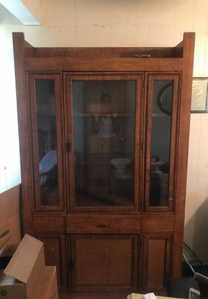 Antique China Cabinet MUST GO!!!! OBO for Sale in Washington, DC
