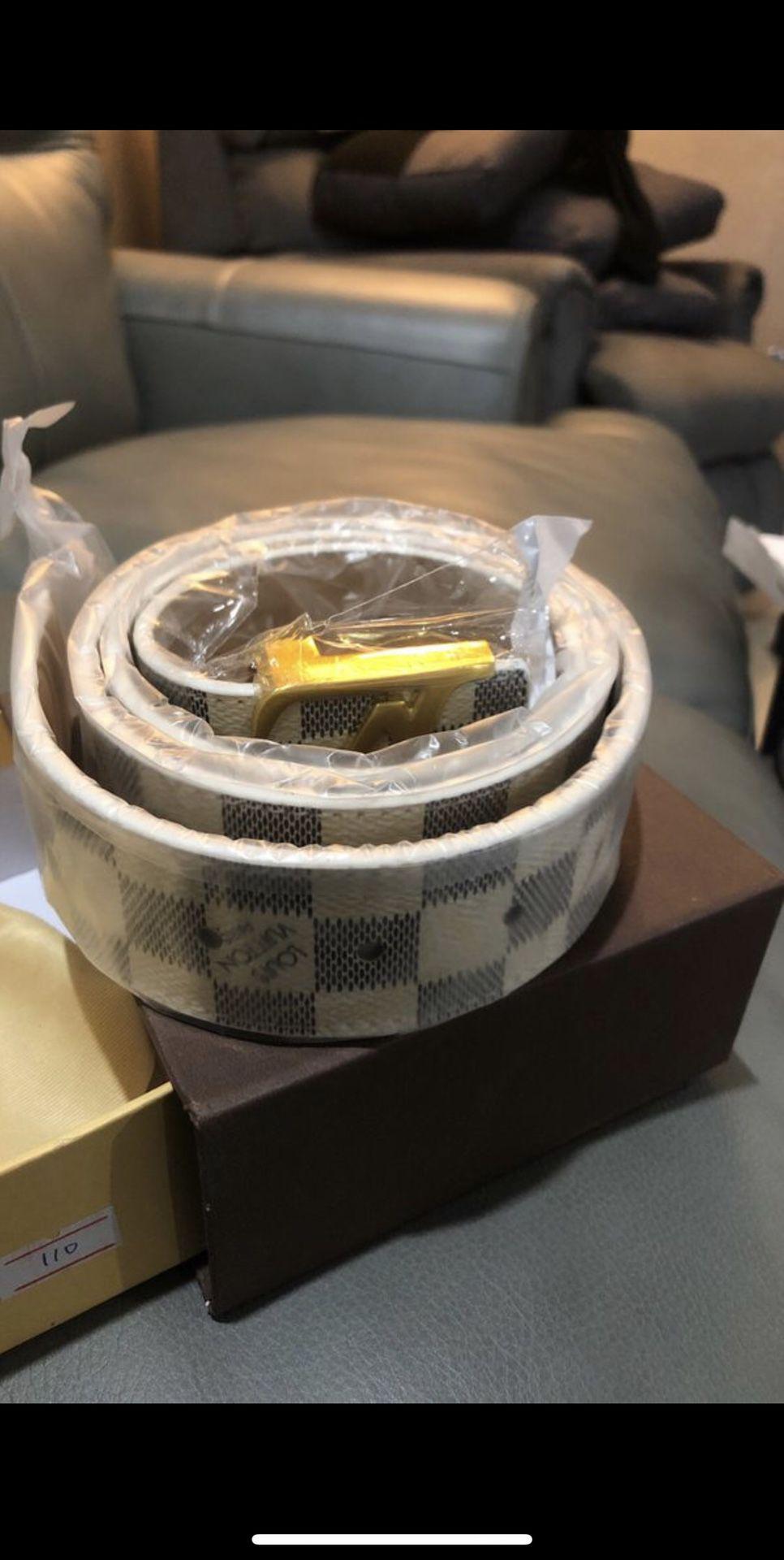 Lv brand new belt