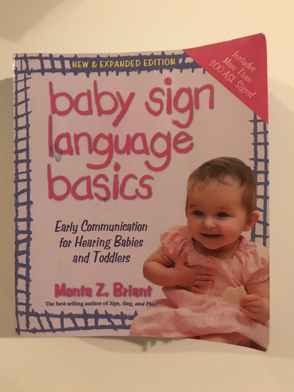 Baby Sign Language Basics For Sale In San Diego Ca Offerup