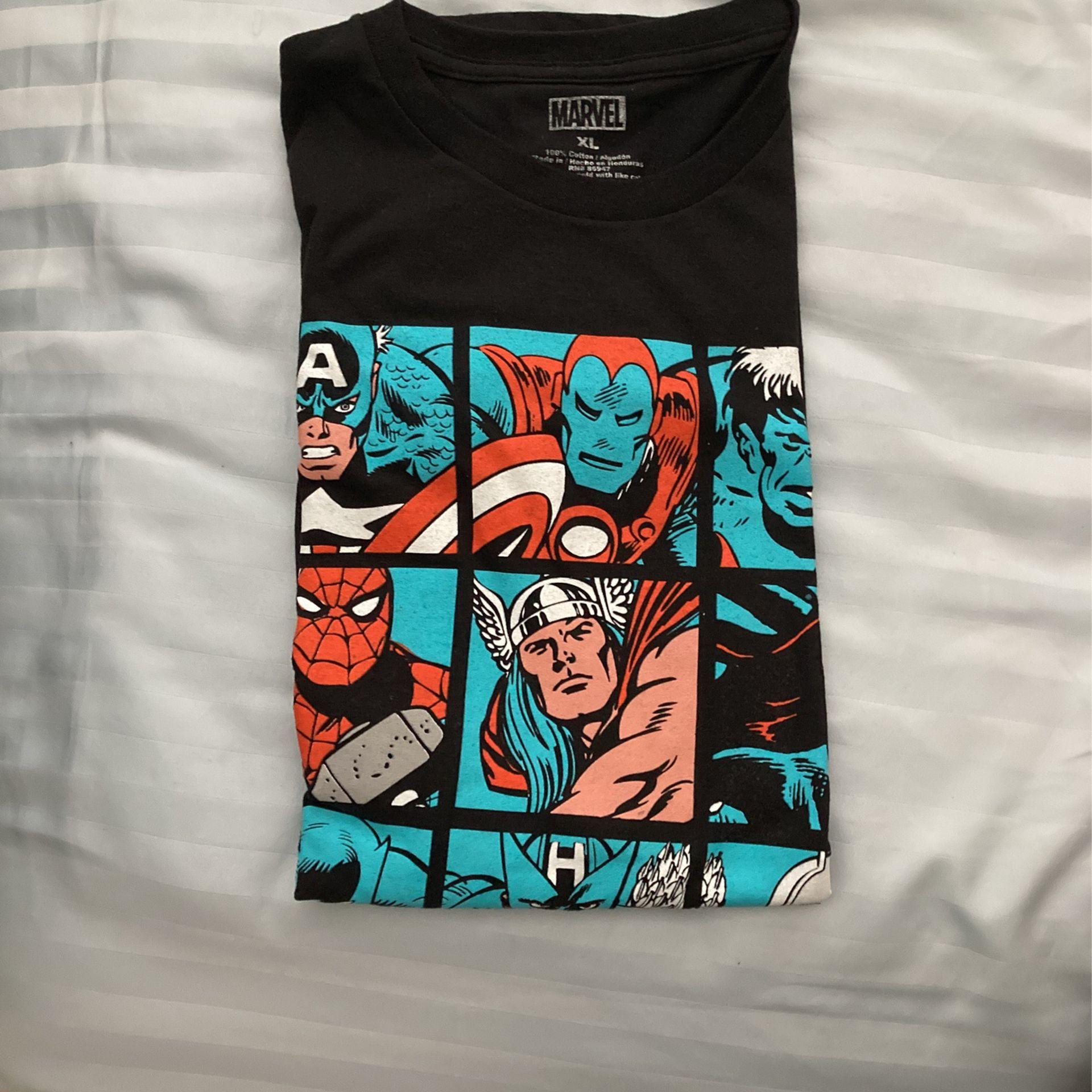 Marvel Shirt XL