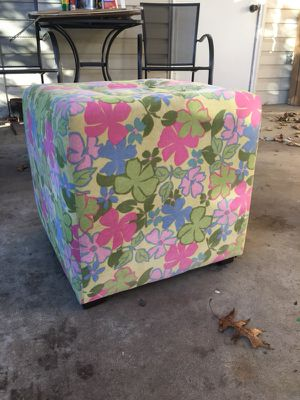 """Padded 18"""" cube stool for Sale in Burke, VA"""