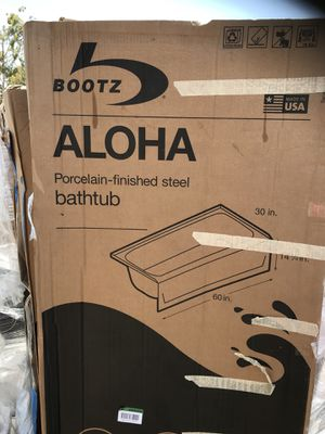 "New! Bath Tubs by Bootz 60"" right & left drain (Home & Garden) in ..."