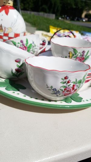 Tea cup set $9 for Sale in Falls Church, VA