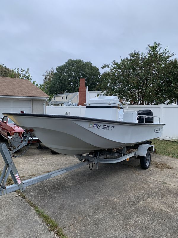 1990 boston whaler 17 montauk