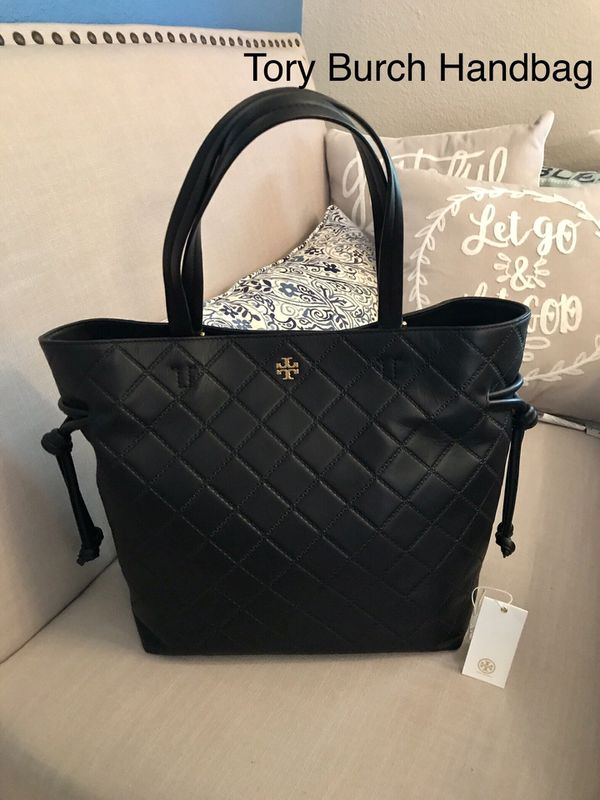 6f3a6d3cccd TORY BURCH Georgia Quilted Leather Tote Handbag for Sale in San Jose ...
