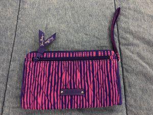 Vera Bradley Wallet Pink Purple Stripes for Sale in Orlando, FL