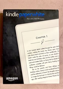 Kindle paper white Thumbnail