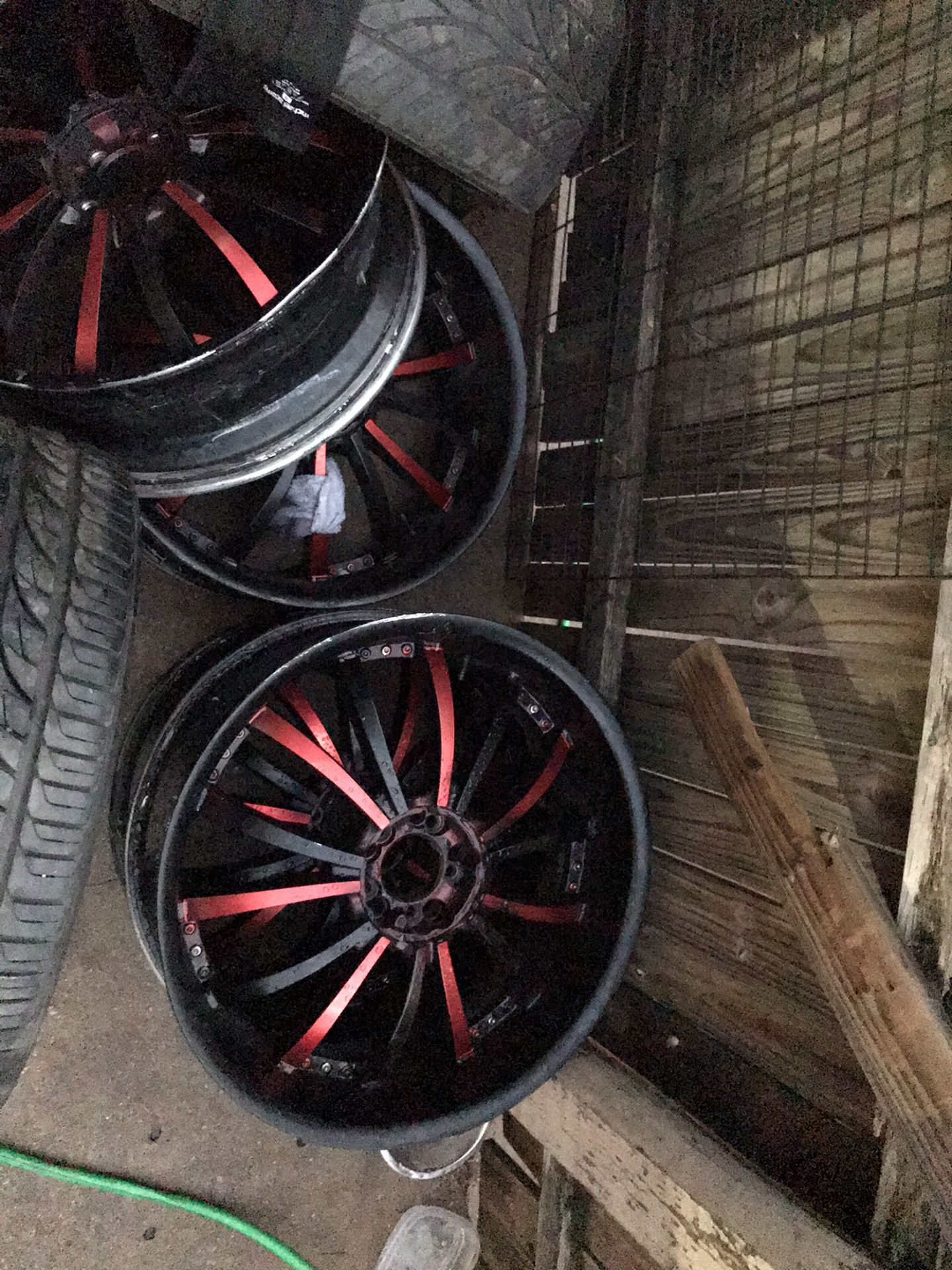 22 inch 5 lug universal or trade for speakers