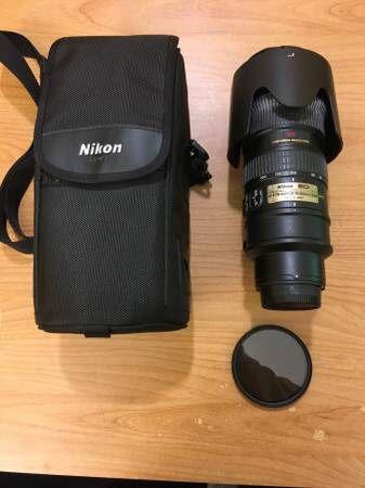Nikon Nikkor 70-200 f2 8 VR AF-S for Sale in Vancouver, WA - OfferUp