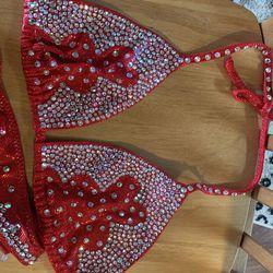 Red Figure Suit  Thumbnail