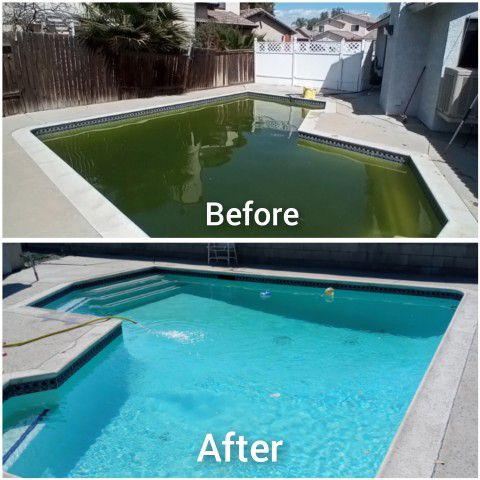 Pools  Green To Clean.