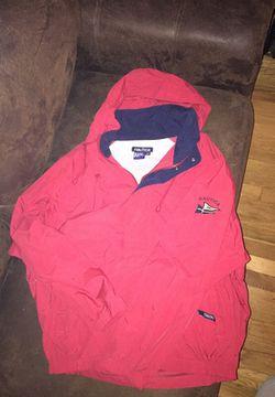 Nautica vintage jacket size large red Thumbnail