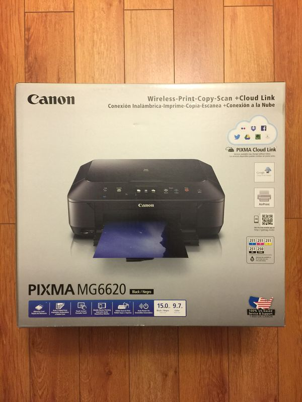 New Sealed Canon Pixma Mg6620 All In One Wireless Inkjet Color