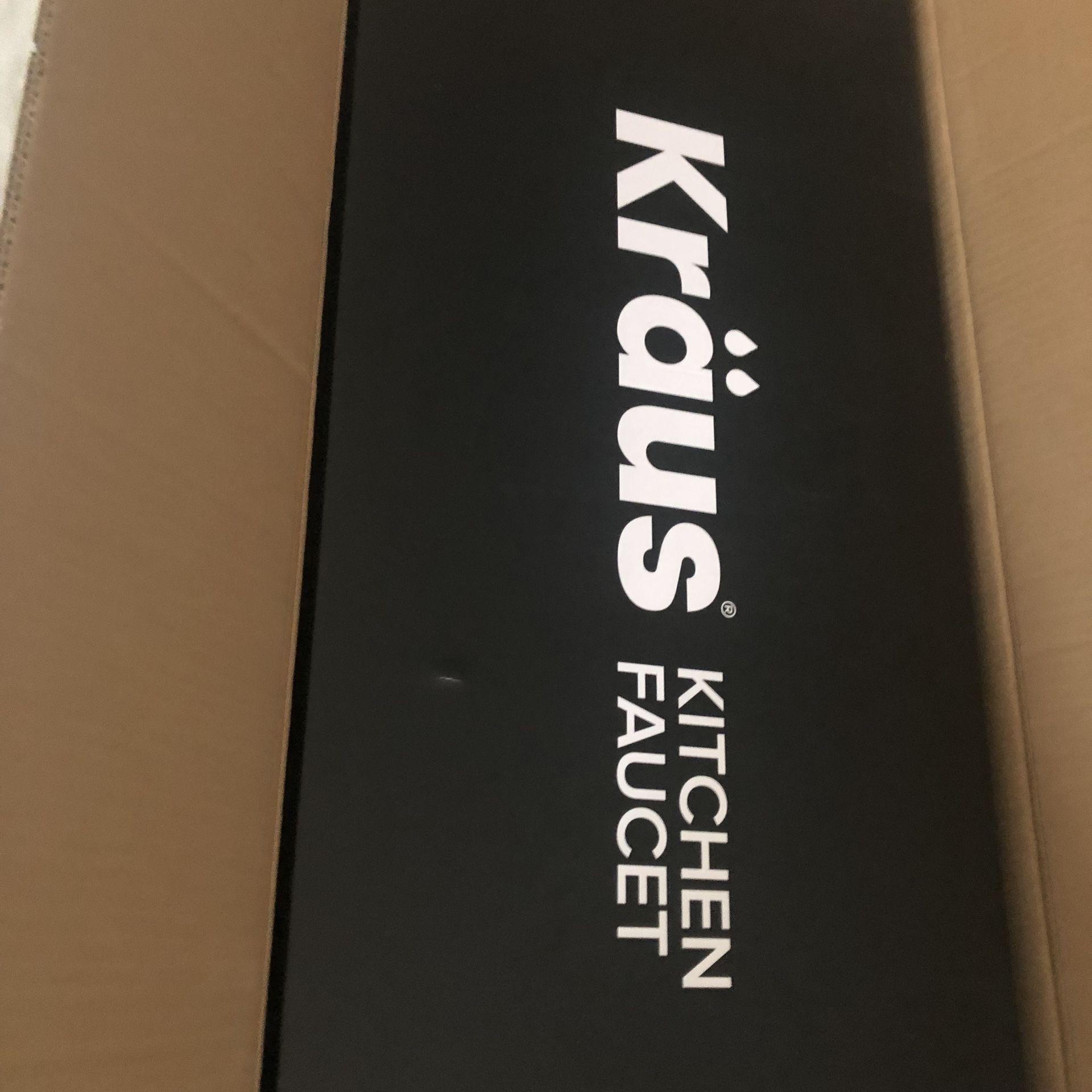 Krause Brushed Metal Kitchen Faucet