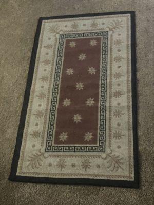 Photo Small Rug and huge matching rug.