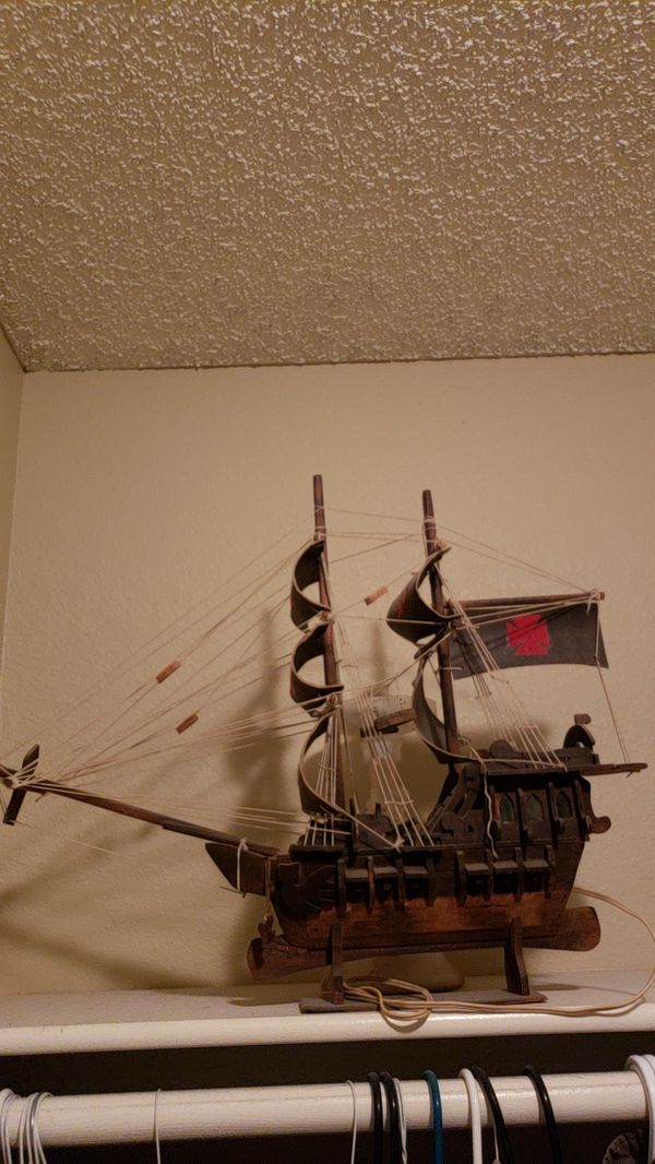 Offerup Las Vegas >> Vitage wooden pirate shit for Sale in Las Vegas, NV - OfferUp