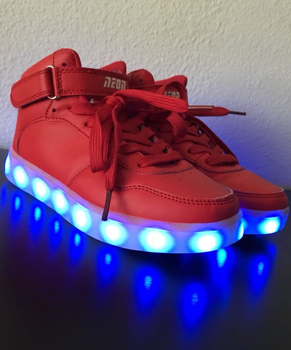 Kids Neon Light Up Shoes (Household) in Austin 4f37db3ac