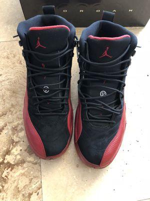 Air Jordan 12 retro red/ black for Sale in Houston, TX