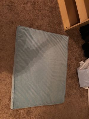 Light blue dog bed for Sale in Bowie, MD