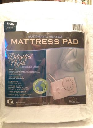 New Twin Automatic Heated Mattress Pad For Sale In Longwood Fl