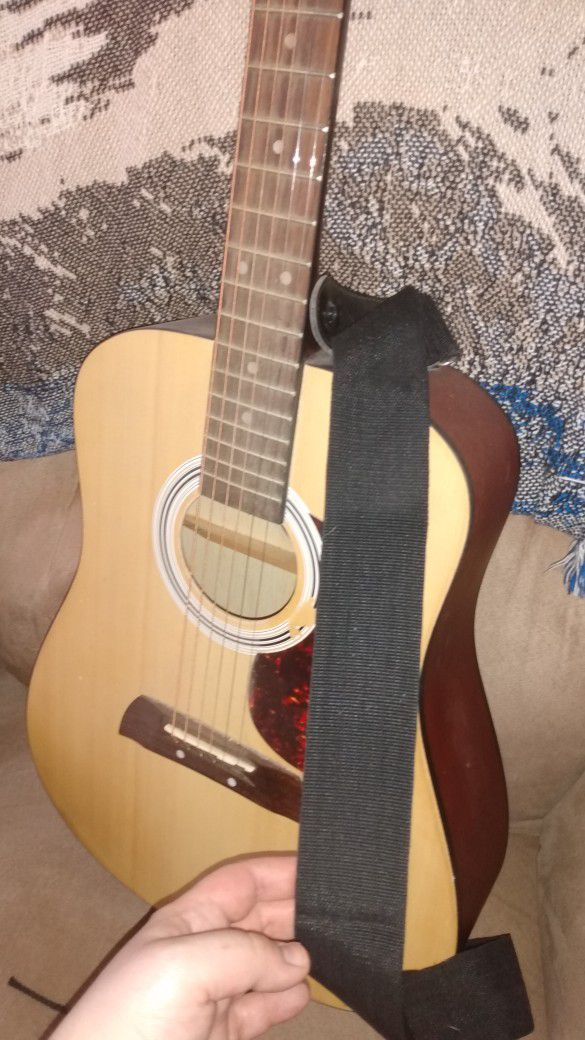 """36"""" First Act Acoustic Guitar MG381 with Strap"""