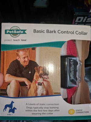 Bark control collar Petsafe for Sale in Aspen Hill, MD