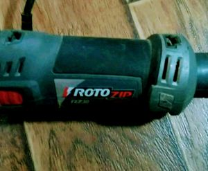 Rotozip with grinder wheel attachment for Sale in Columbus, OH