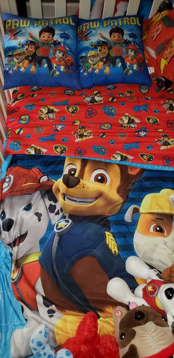 Paw Patrol Crib Bedding Set For In