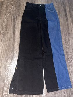 Vintage Two Color Jeans Thumbnail
