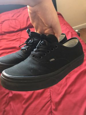 528e9229b9f07b Black vans size 7.5 men and 9.0 women for Sale in Coral Springs