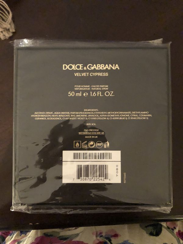 9cf7ee29 Dolce & Gabbana Velvet Cypress for Sale in Palmetto Bay, FL - OfferUp