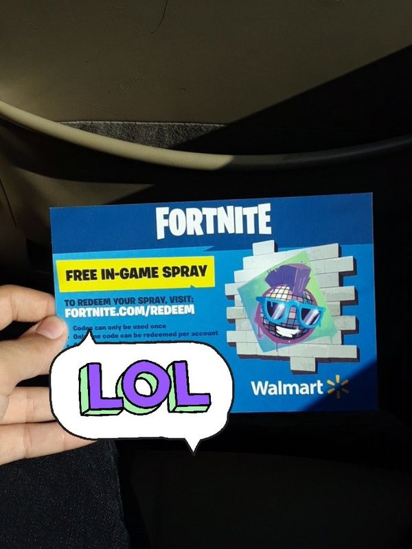 Is Fortnite Free On Switch Fortnite Free Walmart Spray Codes