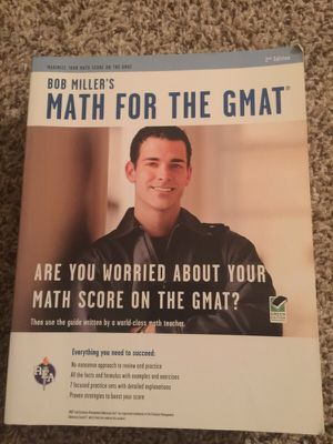 Math for GMAT study guide for Sale in Dallas, TX