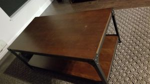 Hard wood coffee table for Sale in Herndon, VA