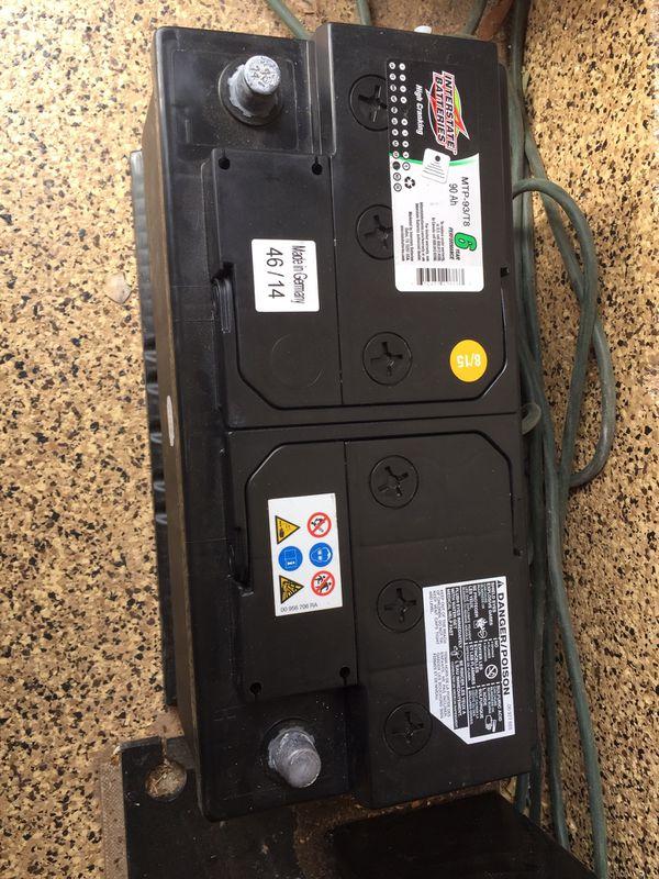 Interstate Car Battery Mtp 93 T8 90 Ah