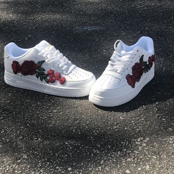 online store 83bc4 afbcf Custom floral Air Force ones for Sale in Goose Creek, SC - OfferUp