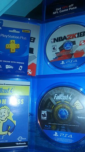 Brand new Ps4 Games for Sale in Apple Valley, CA